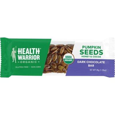 Health Warrior Pumpkin Seed Dark Chocolate