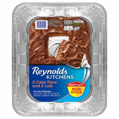 Reynolds Cake Pans and Lids