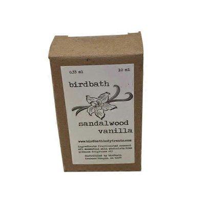 Bird Bath Sandalwood Scented Body Oil