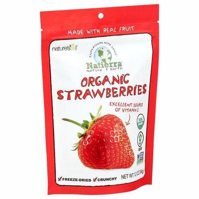 Natierra Natierra Freeze Dried Organic Strawberry