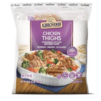 Kirkwood Boneless & Skinless Chicken Thighs