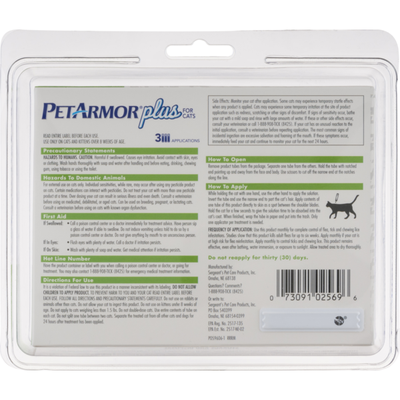 PetArmor Flea, Tick & Lice Treatment, for Cats & Kittens, Over 1.5 lbs
