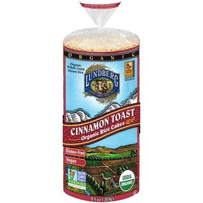 Lundberg Family Farms Cinnamon Toast Organic Rice Cakes