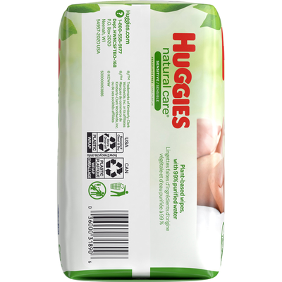 Huggies Sensitive Baby Wipes, Unscented