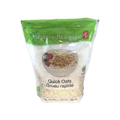 President's Choice Organic Quick Rolled Oats
