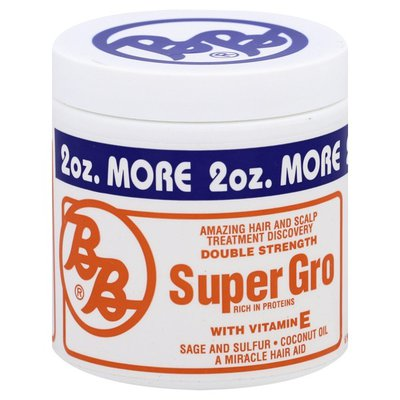 Bronner Bros Super Gro with Vitamin E, Double Strength