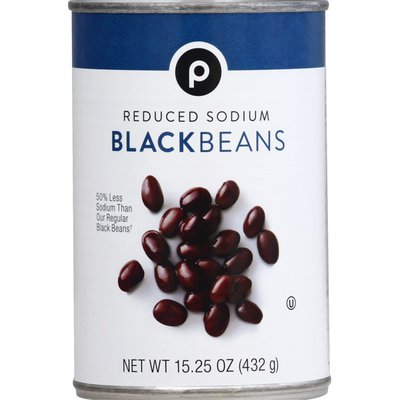 Publix Black Beans, Reduced Sodium