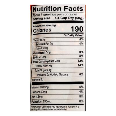 Alter Eco Organic Black Heirloom Quinoa