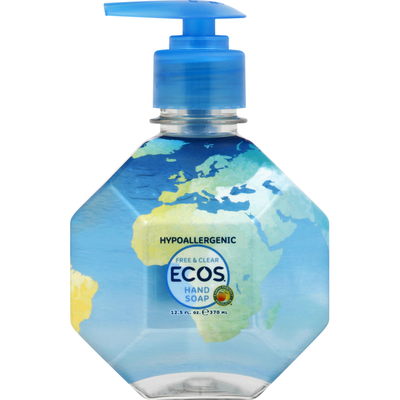 Ecos Hand Soap, Free & Clear
