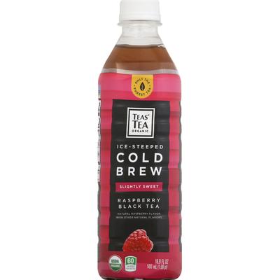 Teas' Tea Black Tea, Slightly Sweet, Raspberry, Cold Brew