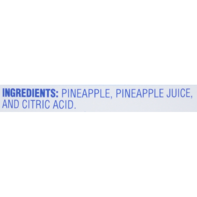 Dole Crushed Pineapple in 100% Pineapple Juice