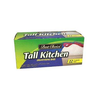 Best Choice Drawstring Tall Kitchen Trash Bags 22 Ct Instacart