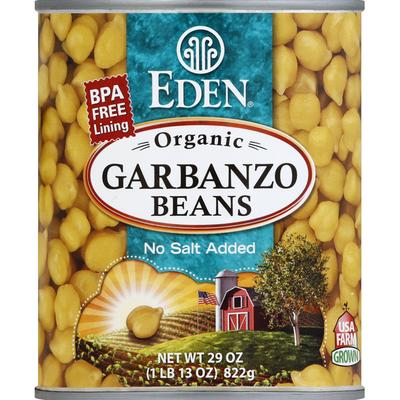 Eden Foods Garbanzo Beans, No Salt Added