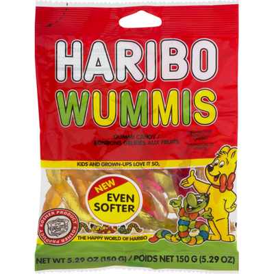 HARIBO Gummi Candy Wummis
