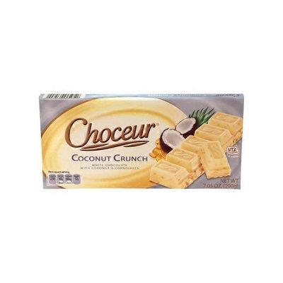 Choceur Coconut Crunch European Chocolate Bar