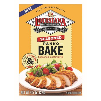 Louisiana Seasoned Panko Bake Seasoned Coating Mix