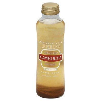 Reed's Organic, Kombucha, Goji Ginger, Long-Aged, Bottle