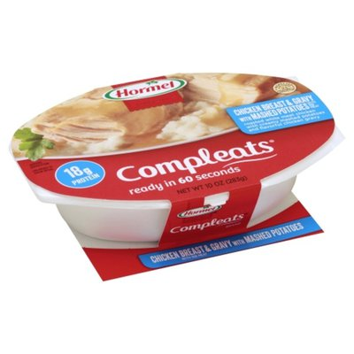 Hormel Chicken Breast & Gravy with Mashed Potatoes
