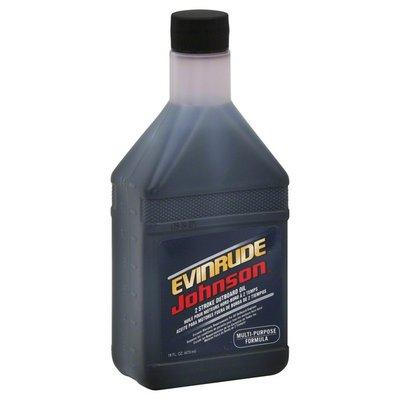 Johnson Outboard Oil, 2 Stroke, Multi-Purpose Formula