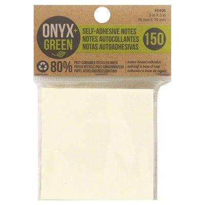Onyx + Green Notes, Self-Adhesive