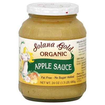 Solana Gold Apple Sauce, Organic