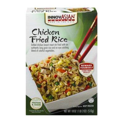 InnovAsian Cuisine Fried Rice, Chicken, Entree