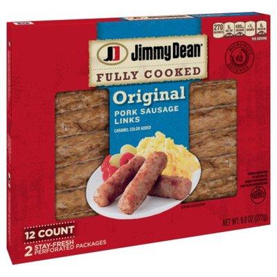 Jimmy Dean Fully Cooked Original Pork Sausage Links