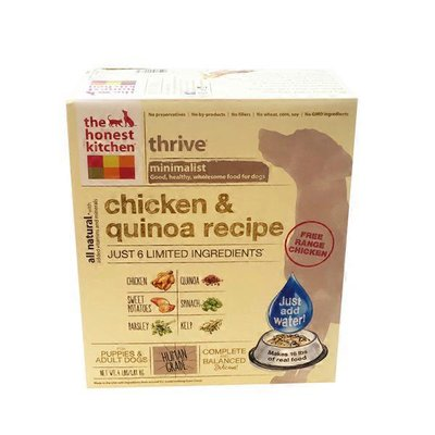 The Honest Kitchen Thrive Minimalist Chicken & Quinoa Recipe Dehydrated Whole Food For Dogs