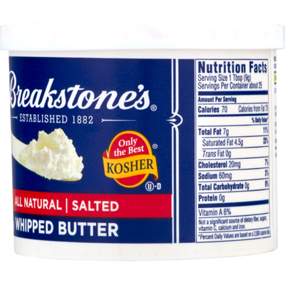 Breakstone's Salted Whipped Butter
