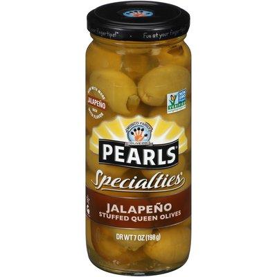 Pearls Specialties Jalapeño Stuffed Queen Olives