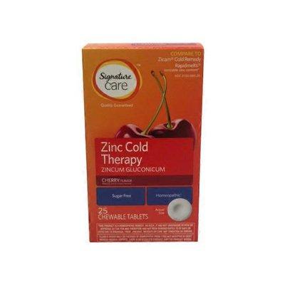 Signature Care Zinc Quick Dissolve Tablets
