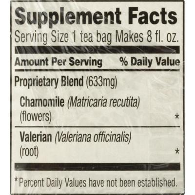 Celestial Seasonings Sleepytime Extra Caffeine Free Herbal Supplement Tea Bags