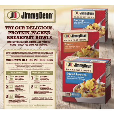 Jimmy Dean Sausage, Egg & Cheese Croissant Breakfast Sandwiches
