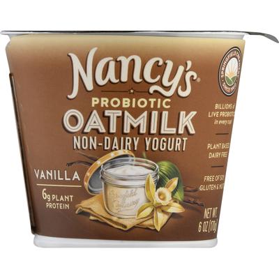 Nancy's Yogurt, Non-Dairy, Vanilla, Oatmilk