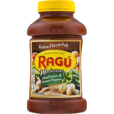 Ragu Mushroom & Green Pepper Sauce