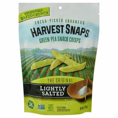 Harvest Snaps Green Pea Snack Crisps, Original, Lightly Salted