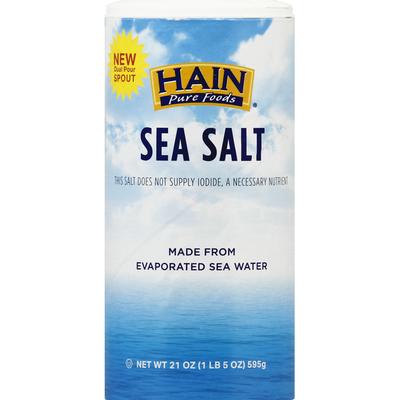 Hain Pure Foods Sea Salt