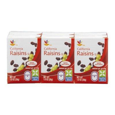 SB California Raisins - 6 CT