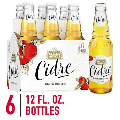 Stella Artois Cidre, European Style Hard Cider Bottles