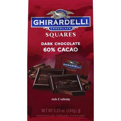 Ghirardelli Dark Chocolate, 60% Cacao