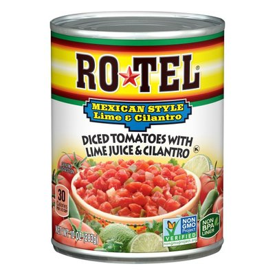 Ro-Tel Mexican Lime And Cilantro Diced Tomatoes