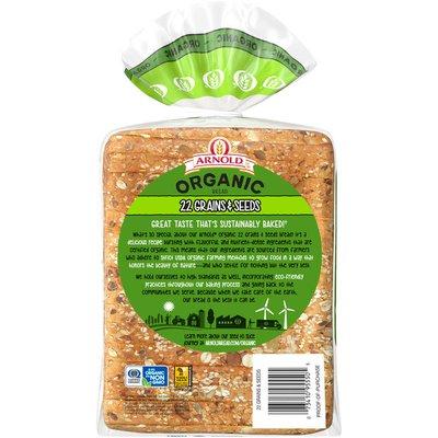 Arnold Organic 22 Grains & Seeds Bread