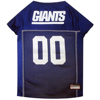 Pets First Extra Large New York Giants Mesh Pet Jersey