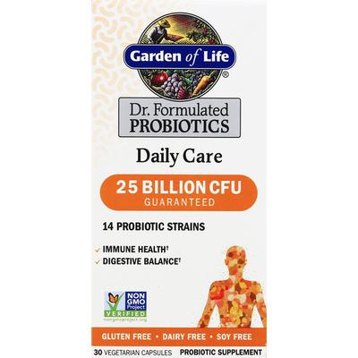 Garden of Life Probiotics, Daily Care, Vegetarian Capsules