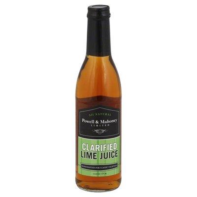 Powell & Mahoney Lime Juice, Clarified