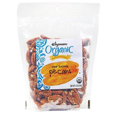 Wegmans Organic Food You Feel Good About Raw Halves Pecans