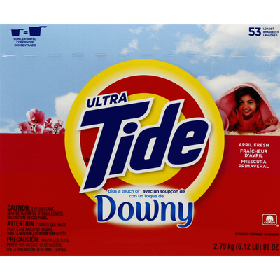 Tide Detergent, Plus a touch of Downy, April Fresh