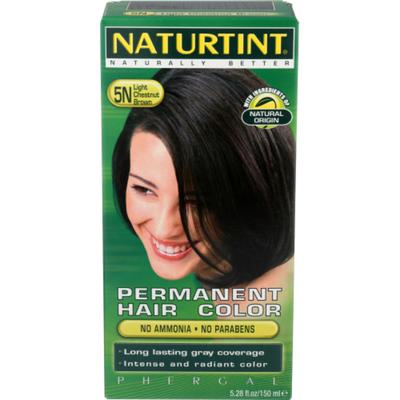 Naturtint Hair Color, Permanent, Light Chestnut Brown 5N