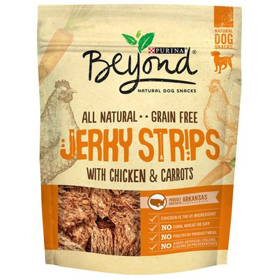Beyond Jerky Strips With Chicken & Carrots Dog Treats