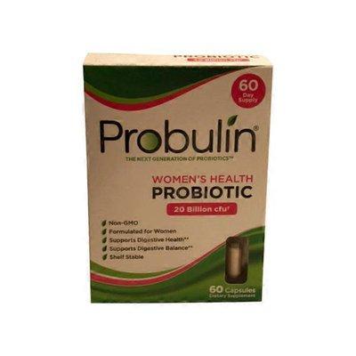 Probulin WOMEN'S HEALTH Probiotic 20 Billion cfu Supports Digestive Health, Supports Digestive Balance Dietary Supplement Capsules